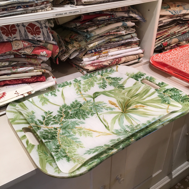 trays by Colefax and Fowler