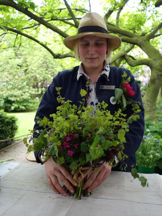 Andrea Brunsendorf Head Gardener at the Inner temple garden London