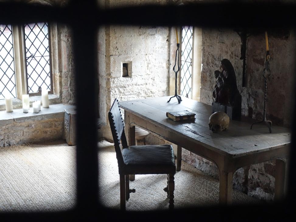 Edward II was murdered in the Guard Room at Berkeley Castle taken by Isla Simpson
