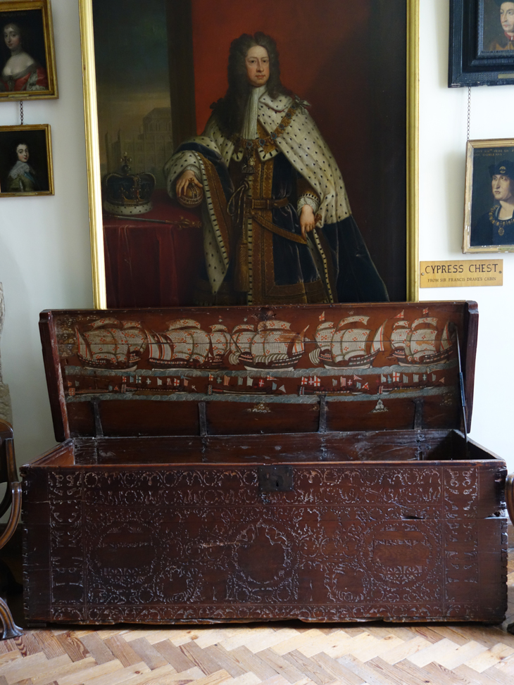 The Cypress chest at Berkeley castle taken by Isla Simpson