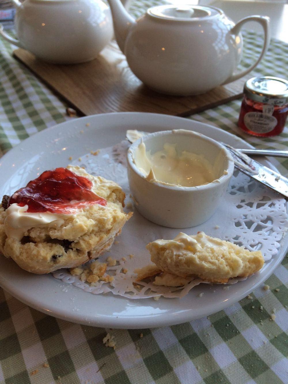 cream tea taken Isla Simpson