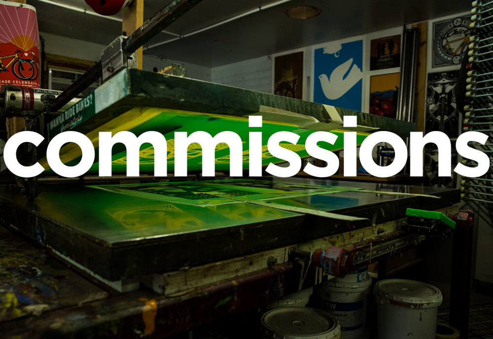 Looking for a private commission? Please contact Jake to discuss your project