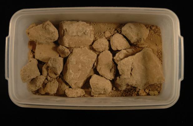 Antediluvian flood deposits, Ur. Penn Museum 31-17-171. Courtesy of Penn Museum.