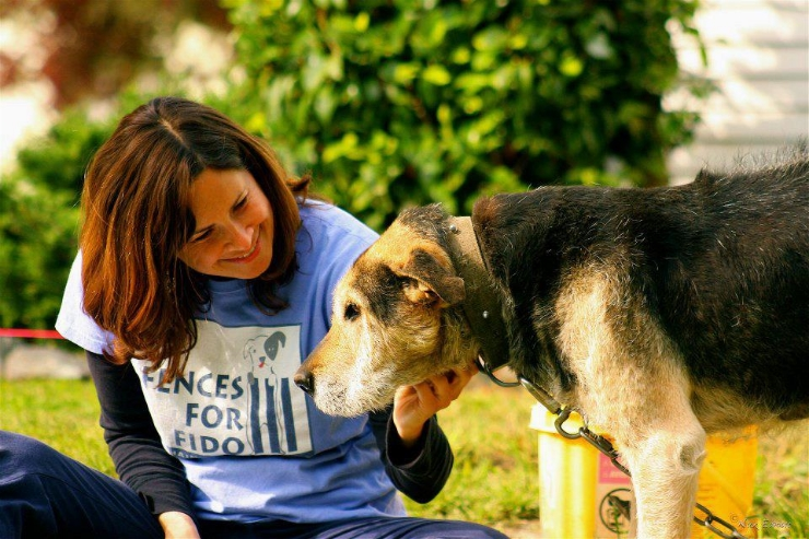 Kelly Peterson, Senior Vice President of State Affairs for The Humane Society of the United States, and co-founder of Fences For Fido