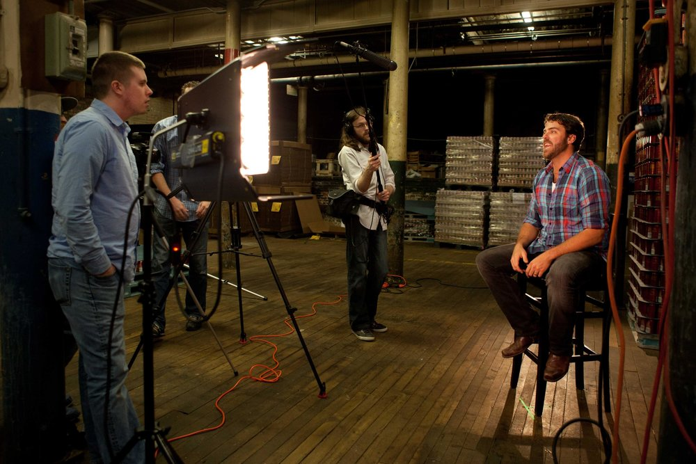 Behind the scenes look at the first Local Brew shoot with Baxter Brewing. Nate interviews host Matt about what he did that day and how he liked their beer.