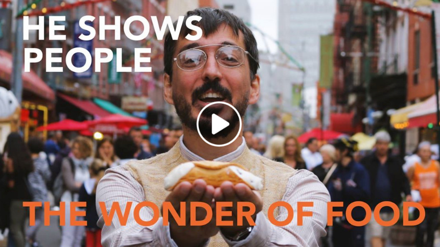 He Shows People the Wonder of Food - Urbanist Facebook Live Video