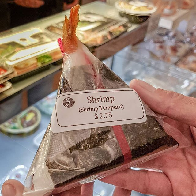 How many #onigiri 🍙 could you have in one sitting? While you are checking it out, we'll share intriguing stories from 11th century Japan, Samurai secrets, and an #80s life-saving invention. #secretcafeteria #withviews #shrimptempura #ume #tuna *We welcome #2019 with a weeklong series of our friend @Tomfaklerphoto 's 📸 from our #NoPassportRequiredInternationalFoodTour #BookYourTourNOW