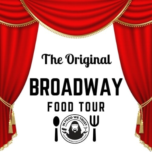 New Year, New Tour! #TheOriginalBroadwayFoodTour is @infoodwetrust.nyc's collaboration with the 🌟 guide, professionally trained chef 👨‍🍳, culinary writer/teacher👨‍🏫...& former opera singer 👨‍🎤, Carl Raymond @craymondny! A unique tour of the heart of New York's famed theatre district, combining #Broadway history with tastings of some of the city's most iconic foods. Share with your theater fan friends! #BookLinkOnBio #BroadwayTour #FoodTour #NewTour