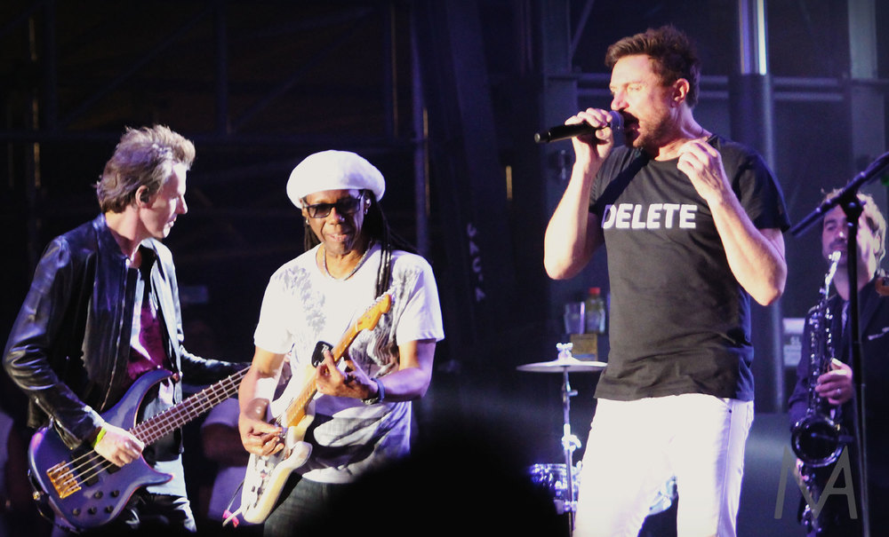 Nile Rodgers and Duran Duran