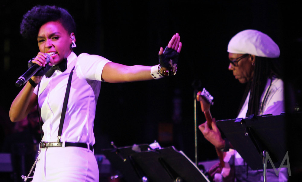 Nile Rodgers and Janelle Monae