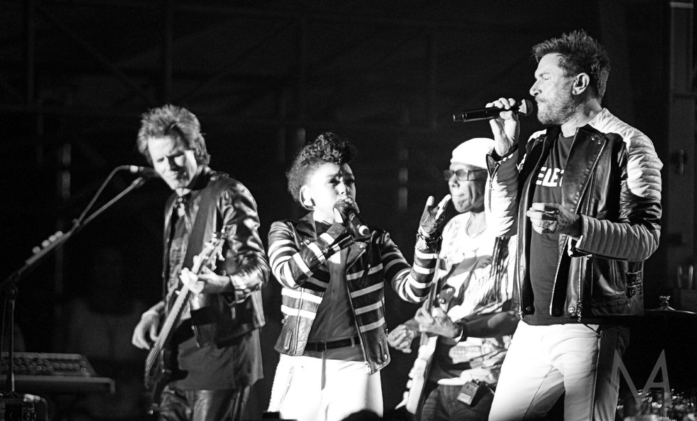Nile Rodgers, Janelle Monae and Duran Duran