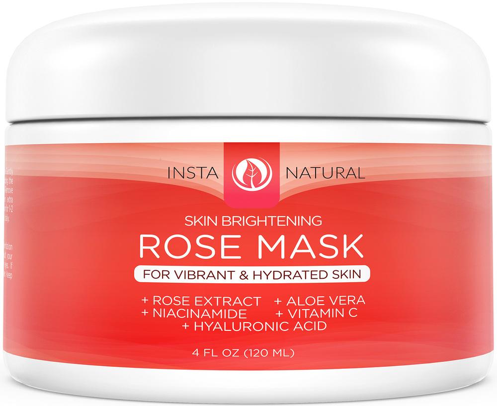InstaNatural Skin Brightening Rose Mask