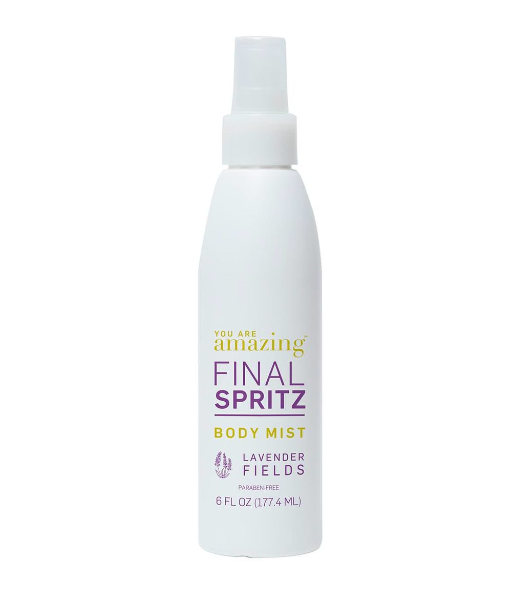 You Are Amazing Final Spritz Body Mist Lavendar Fields