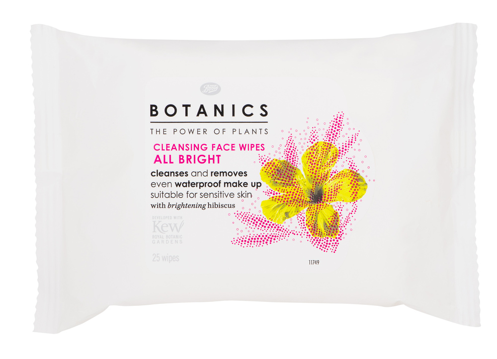 Botanics All Bright Cleansing Face Wipes