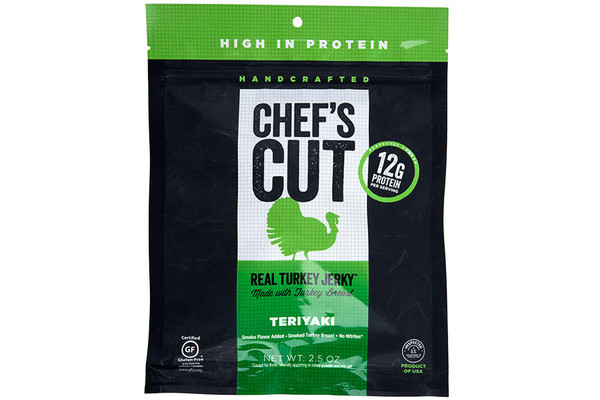 Chef's Cut Real Turkey Jerky in Teriyaki