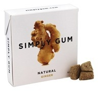 Simply Gum in Natural Ginger