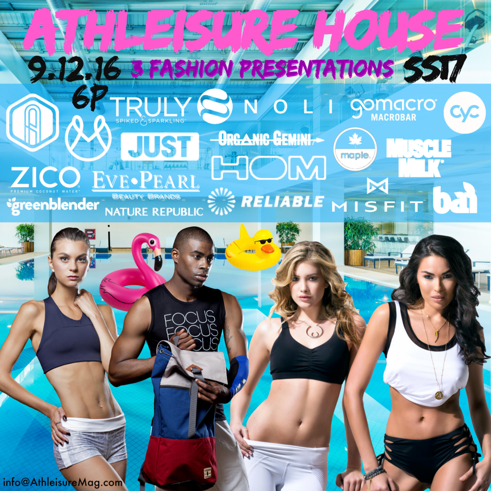 ATHLEISURE MAG JUL 2016 ISSUE (Model Set on the Left) | PHOTOGRAPHY Carlos David | STYLIST Kimmie Smith | MUA/HAIR Kat Osorio | MODELS Natalie DeGenova/BMG Models + Oheni Morris/TRUE MODELS | ATHLEISURE MAG FEB 2016 ISSUE (Model Set on the Right) | PHOTOGRAPHY Carlos David | MUA Nydia Figueroa | HAIR Angel Morales | MODELS Kelsey E/MSA MODDELS + Vanessa Jorge/MAJOR MODEL |