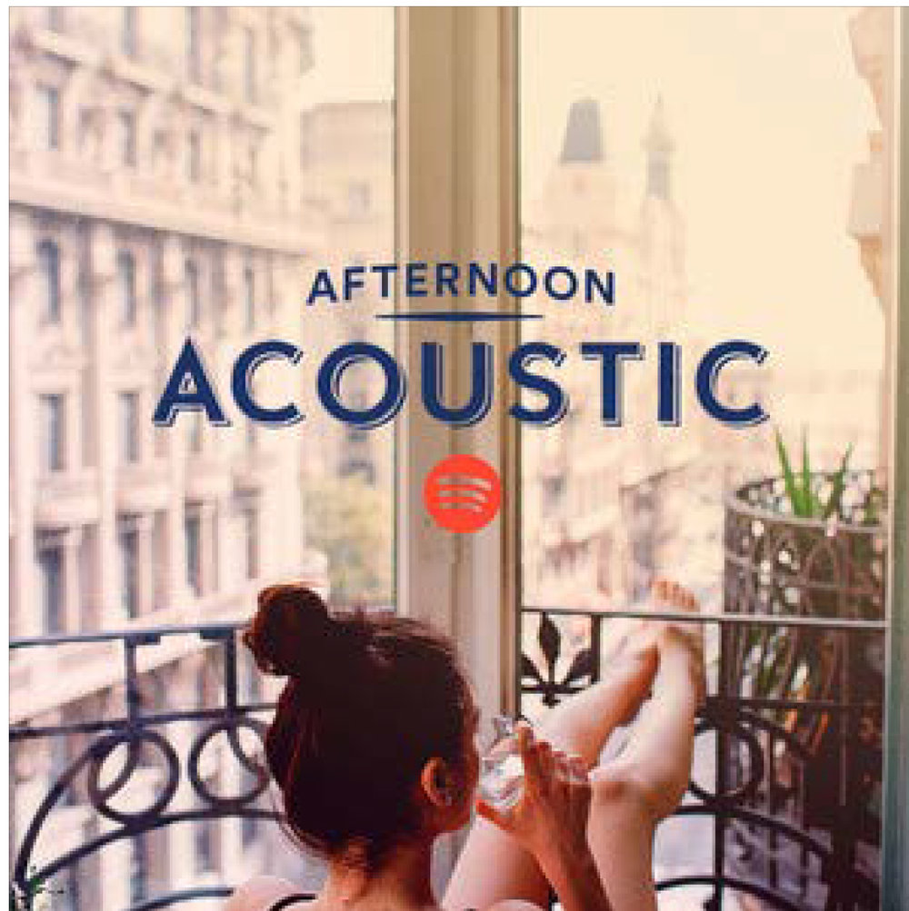 |  Spotify  | Radio Station: Afternoon Acoustic |
