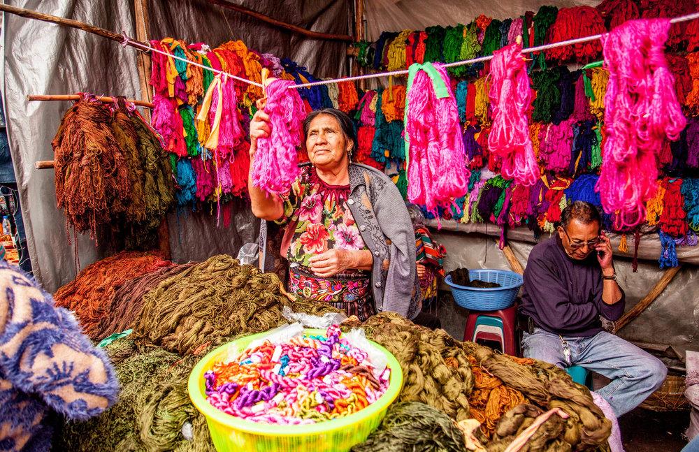 LA BIENVENIDA A GUATEMALA