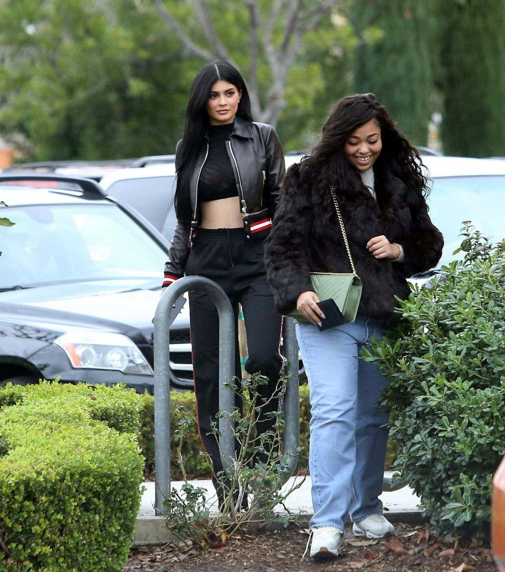 Kylie Jenner with a friend shopping in Calabasas 01.14.17