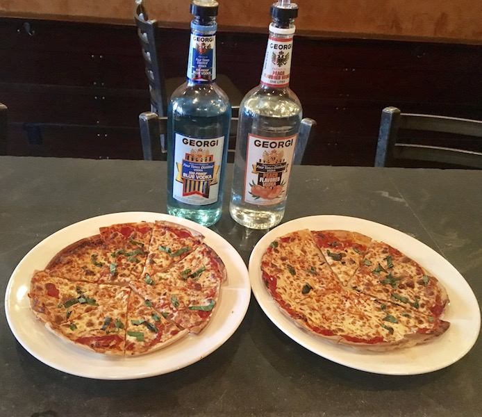 PIZZA + 100 PROOF VODKA, YES PLEASE