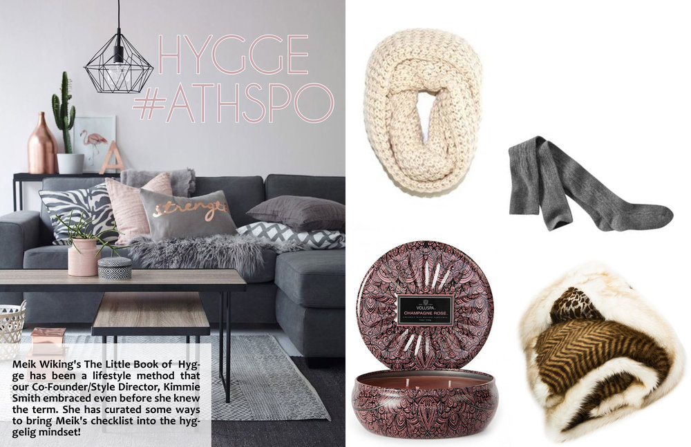After talking with   Meik Wiking of The Little Book of     Hygge   in this issue, we put together some of our favorite finds to bring a little hyggelig in your lifestyle!