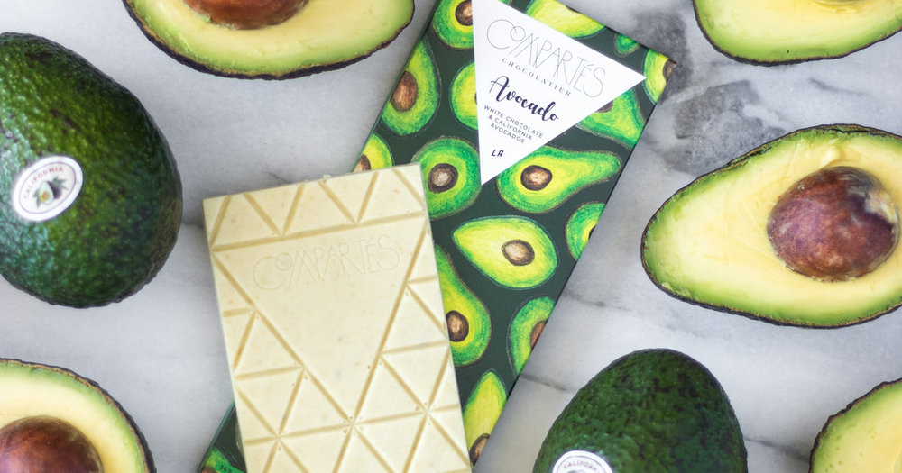 Chocolate X Avocado - World's collide!