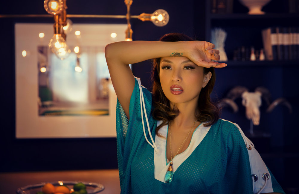 ATHLEISURE MAG MAY ISSUE WITH OUR CELEB COVER, JEANNIE MAI OF FOX'S 'THE REAL'