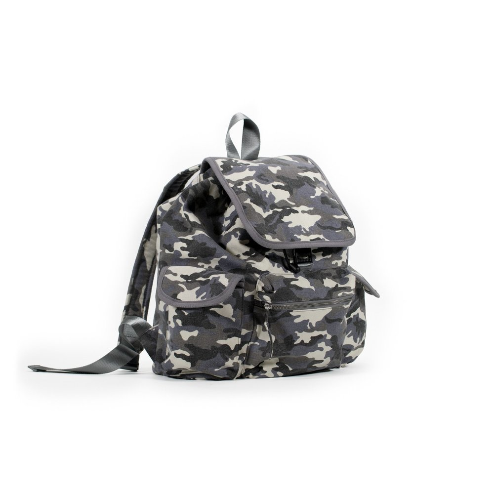 QUILTED KOALA Camo Backpack