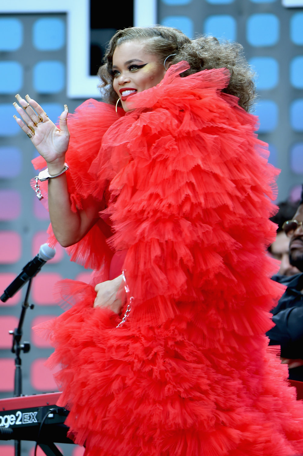  PHOTOGRAPHY Theo Wargo/Getty Images for Global Citizen - Andra Day  