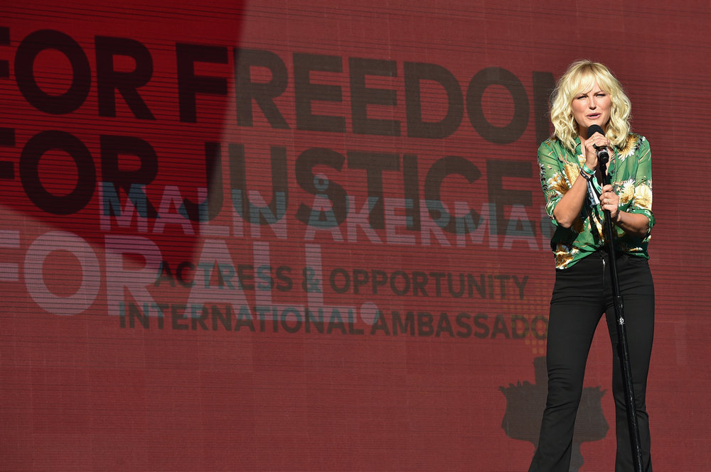 | PHOTOGRAPHY Theo Wargo/Getty Images for Global Citizen - Malin Akerman |