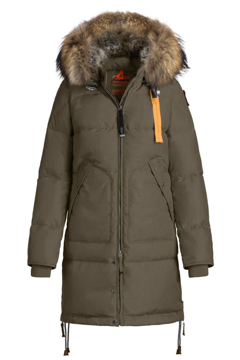 PARAJUMPERS - Long Bear in Elmwood - our Style Director has worn this in some REALLY cold temperatures and hasn't felt the chill!
