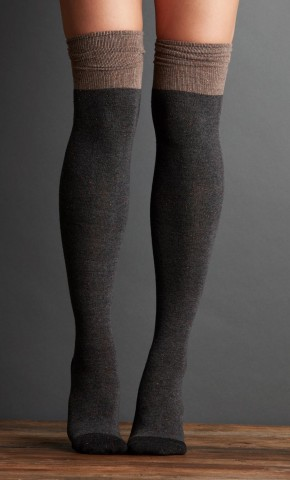 LEMON COLLECTIONS - Over the knee socks are perfect to way to create layers for yor legs.