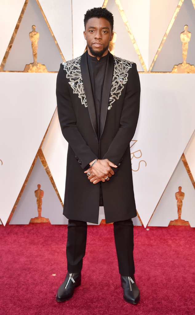 CHADWICK BOSEMAN  | PHOTOGRAPHY Kevin Mazur/WireImage |   STYLIST Ashley Weston | GIVENCHY HAUTE COUTURE Suit | DAVID YURMAN Jewelry |