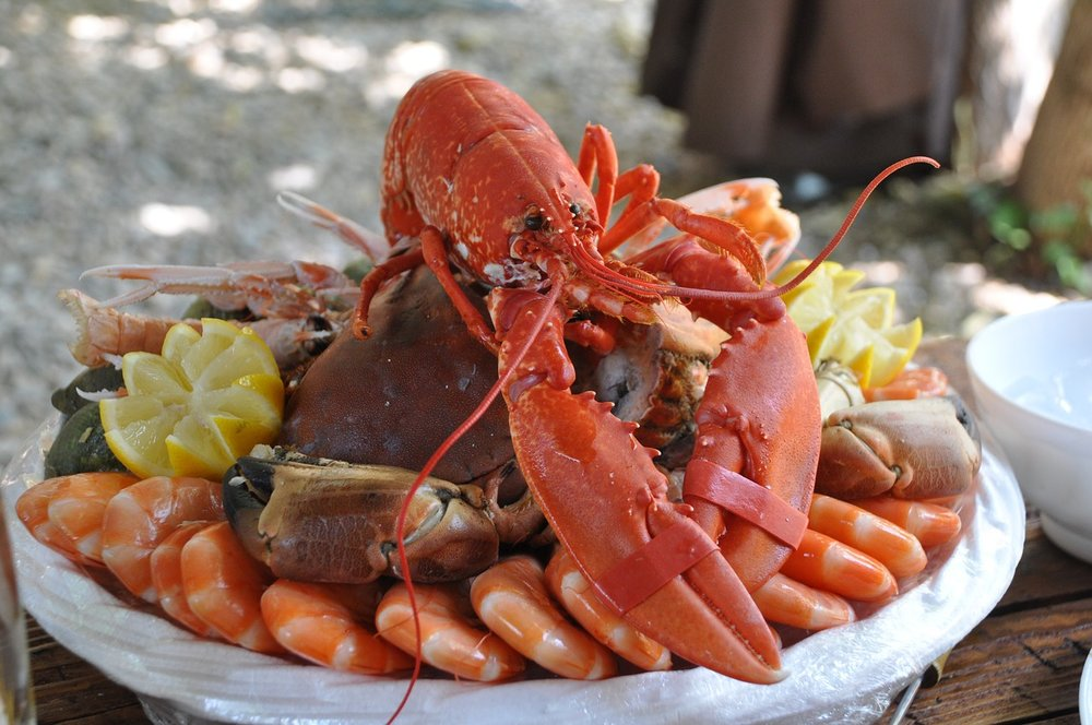 PHOTO  | Nadine Dorele /  Public Domain  |  Tasty seafood platter