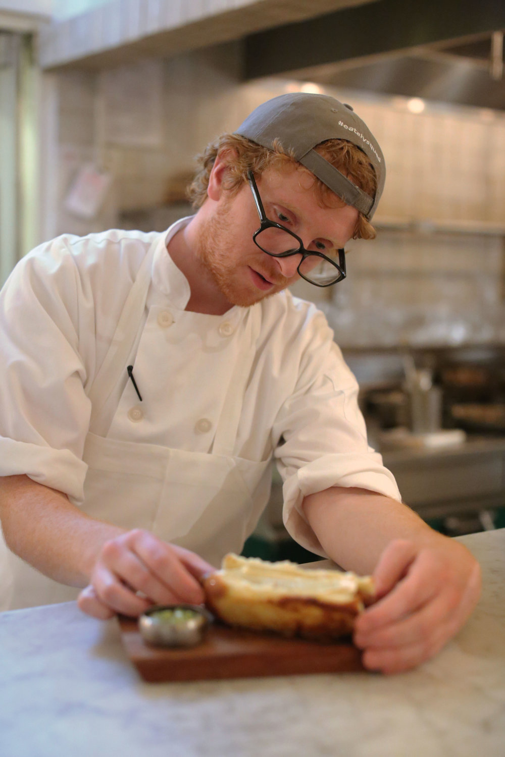 eataly-flatiron-manzo-from-ny-to-ny-chef-adam-hill-plating-hotdog-covina-timandnancycushman.jpg