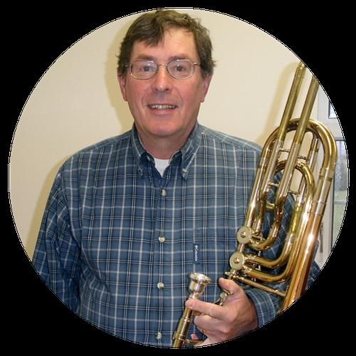 Tom Huelsmann, Trombone, French Horn, Trumpet, Tuba, Oboe teacher, private music lessons