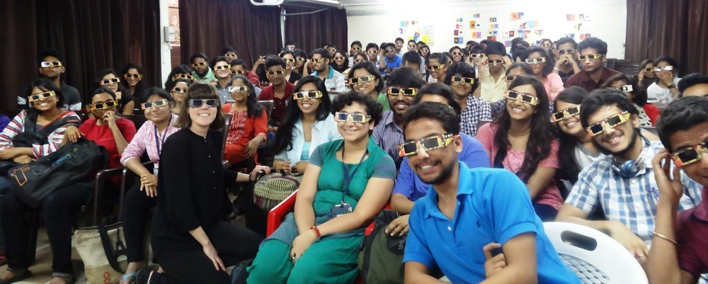 Canada in India: High Commission of Canada - During her time at the National Film Board, Hands On Media Education Director, Jessie Curell, conducted workshops for teachers, students and budding filmmakers in New Delhi, Kolkata, Hyderabad and Mumbai. Jessie also spoke about 'Teaching Industry Skills to Media and Entertainment Students' at the annual FICCI Frames festival in Mumbai.