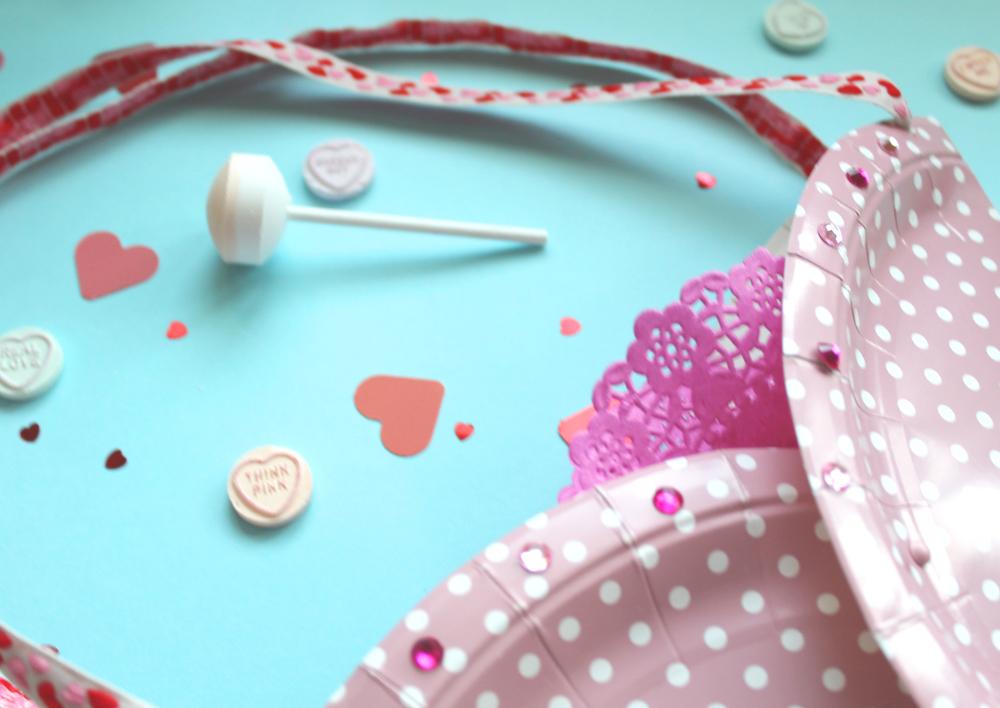 make a valentines bag craft