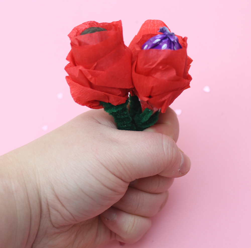 how to make rose lollies