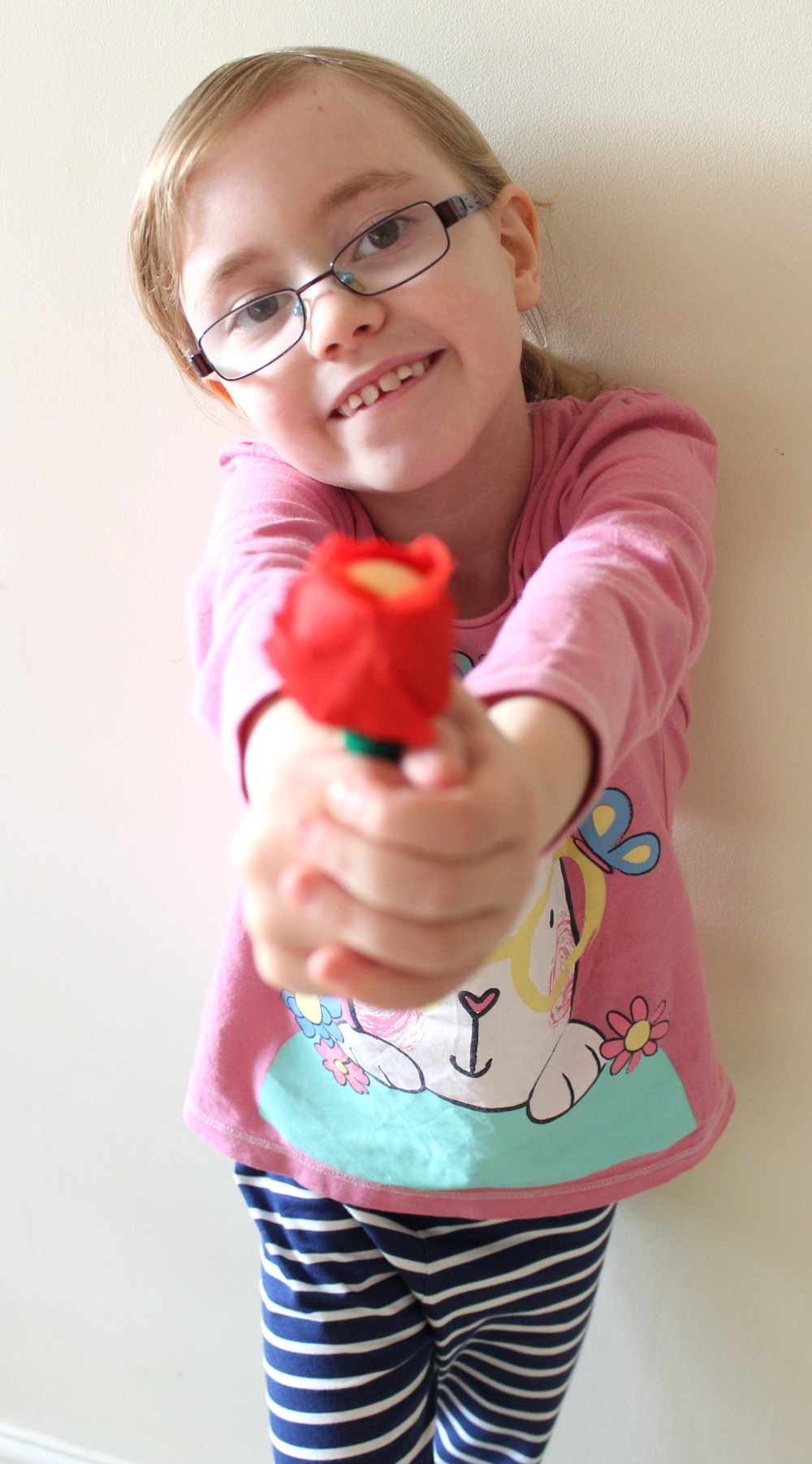 how to make valentines rose lollies