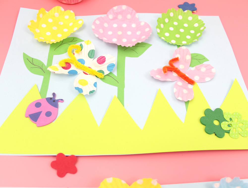 3D spring picture