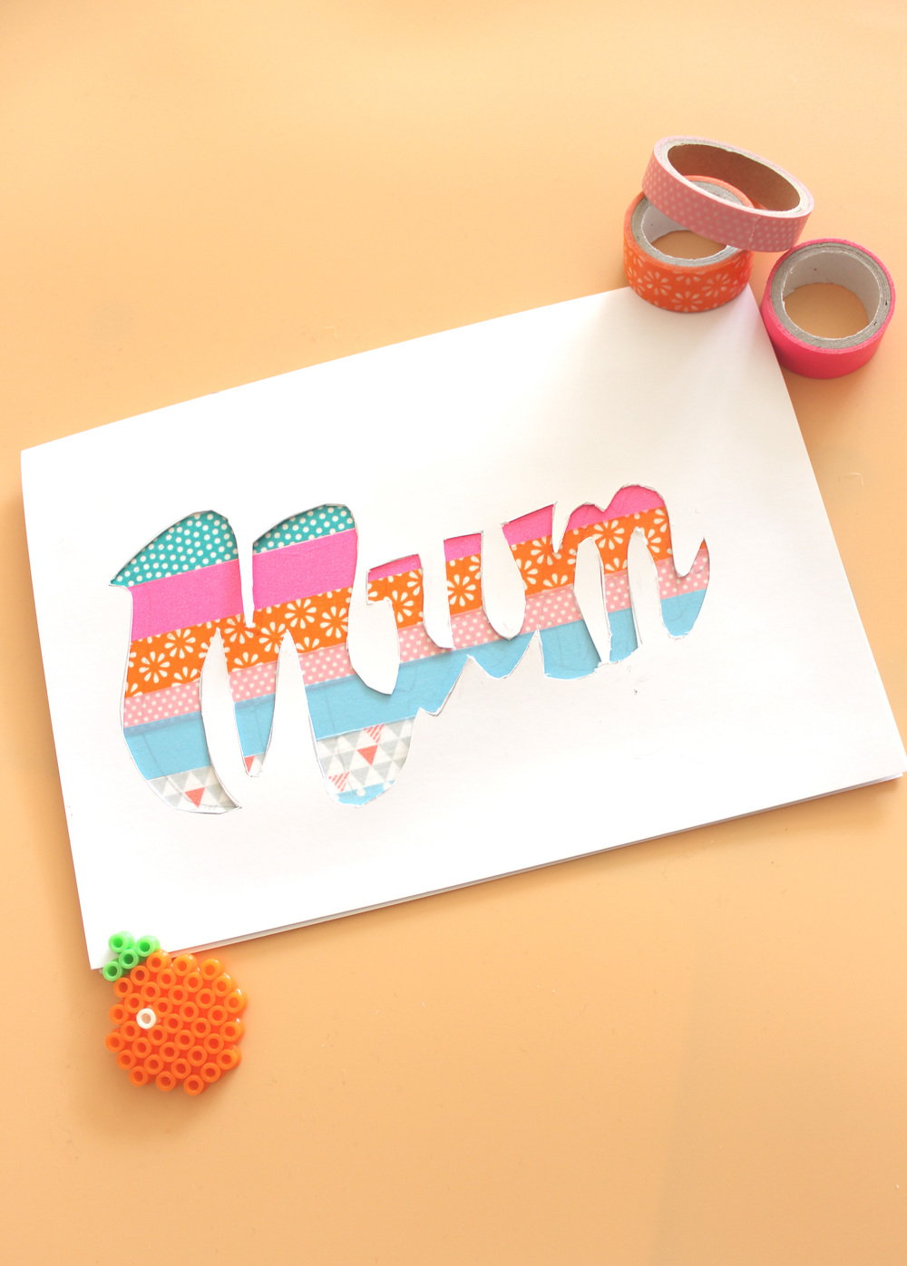 how to make a paper cut card