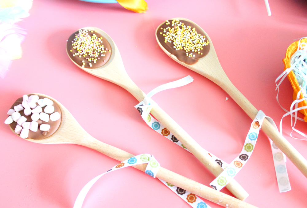 chocolate spoon gifts