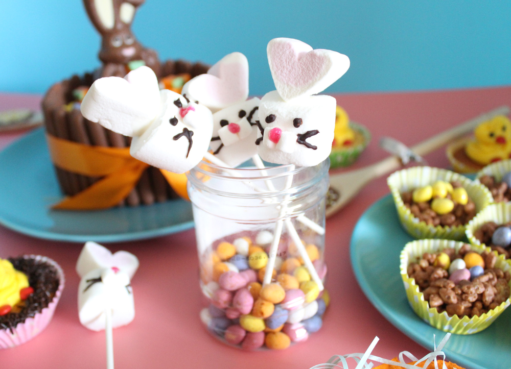 bunny marshmallows