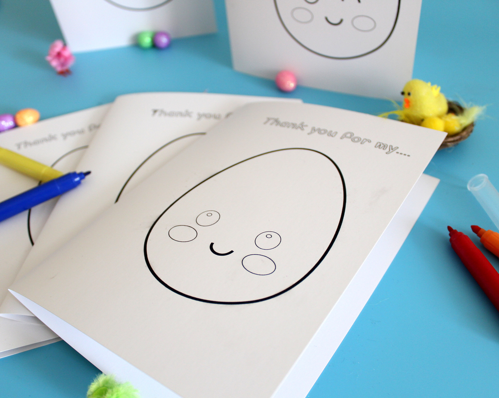 free printable easter colouring in cards