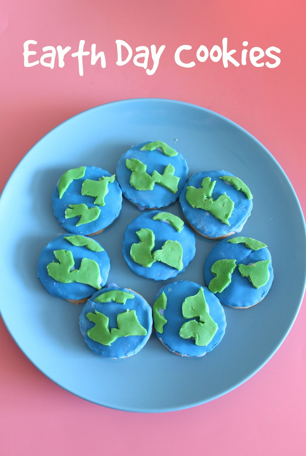 how to make earth day cookies