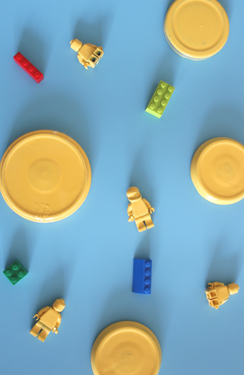 how to make lego men jars