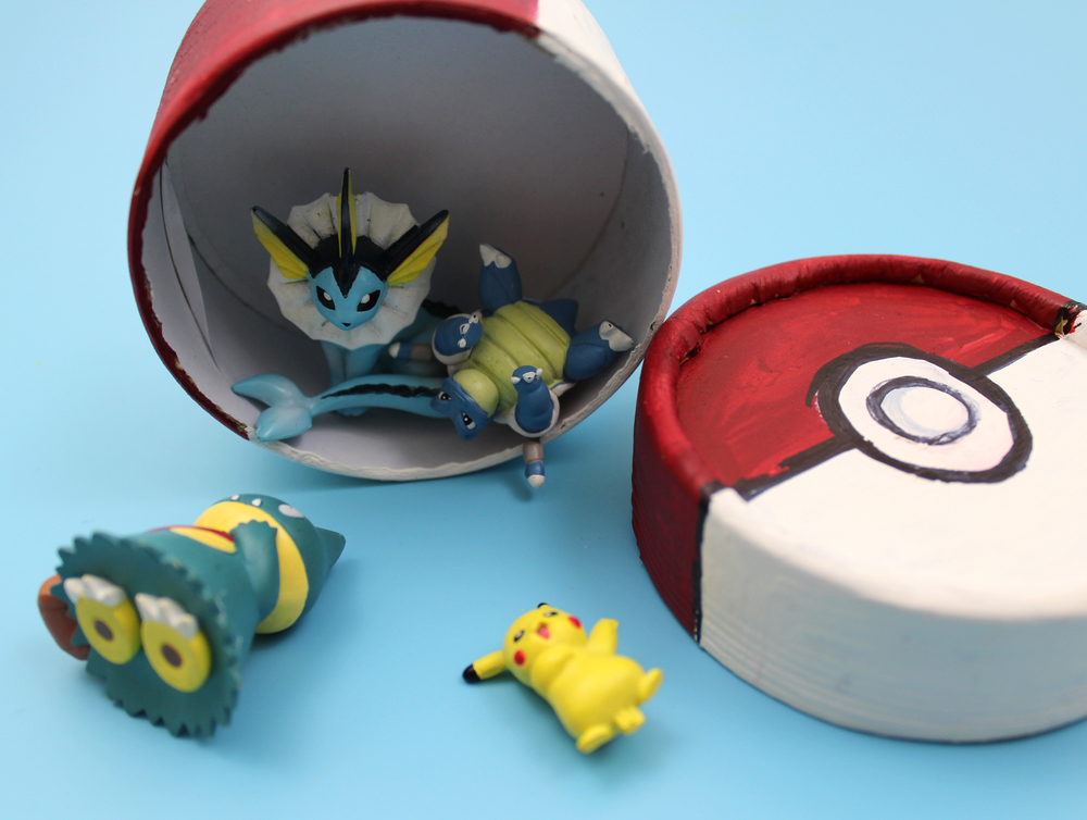 pokemon ball crafts