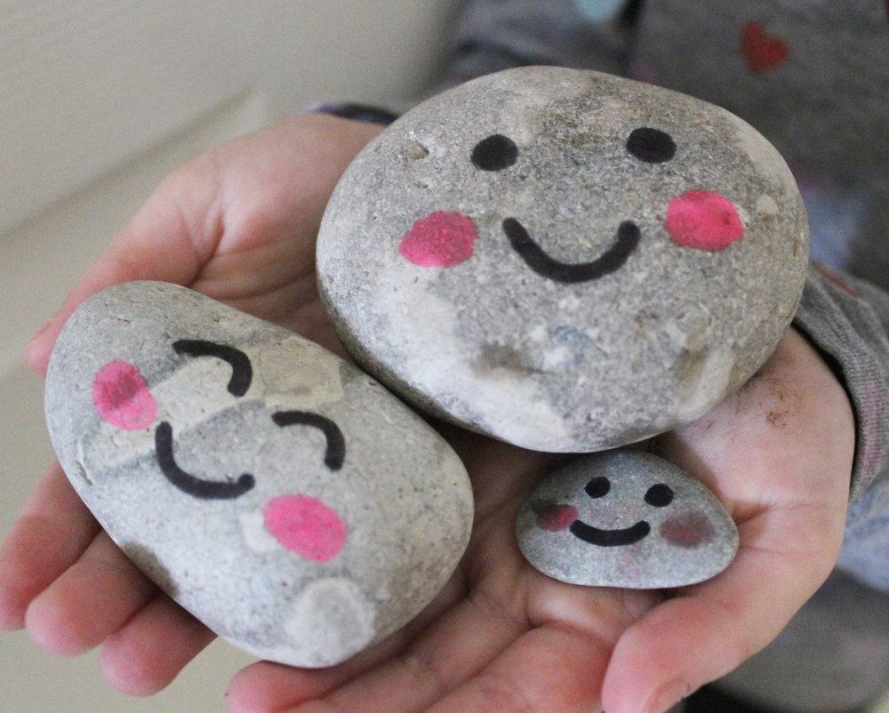 pet pebble craft